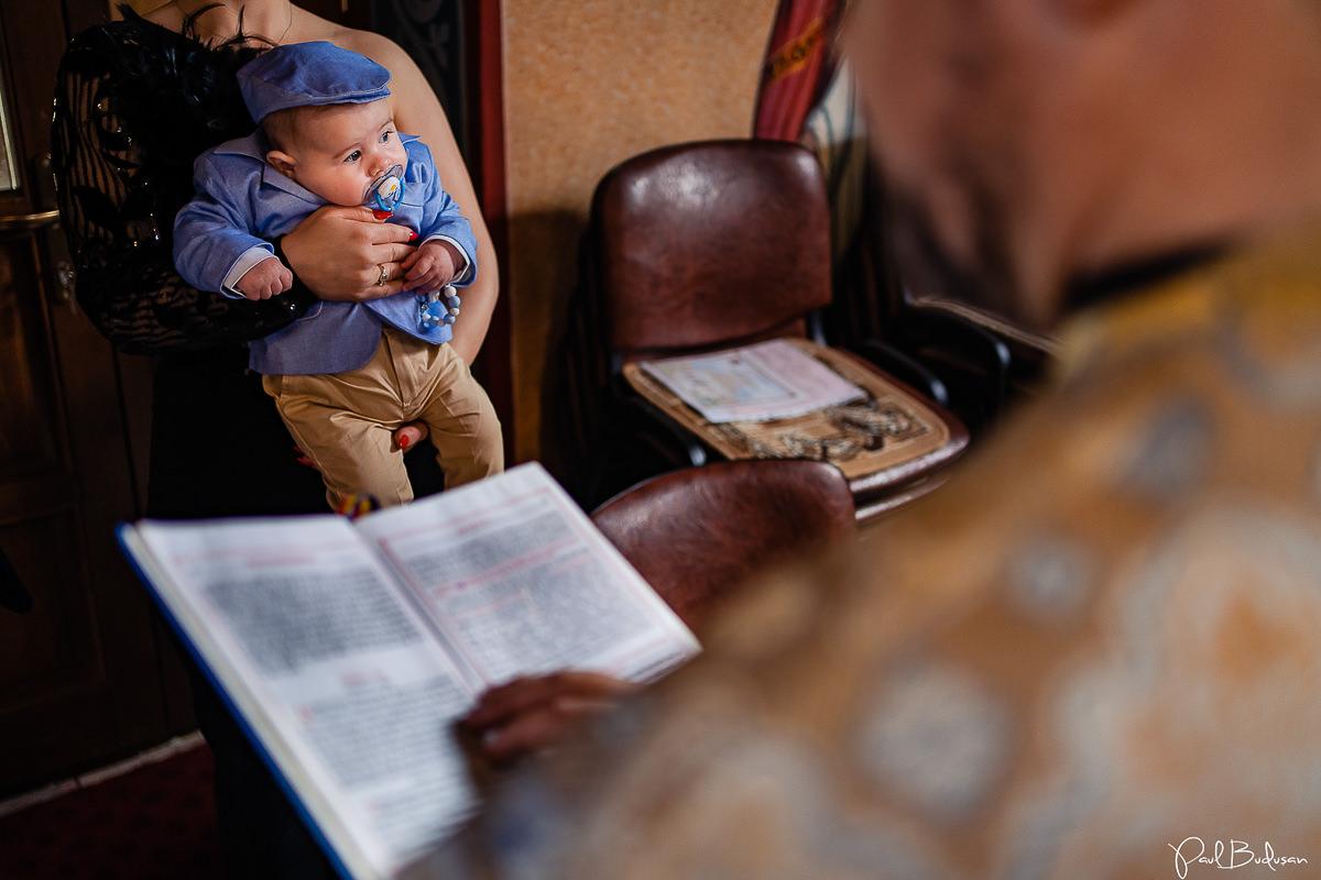 Botez in Pandemie, Fotograf de Botez, Paul Budusan Fotograf